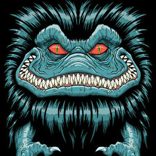 CRITTERS Horror Movie Monster Artwork 1986 Krites NEW TeeFury TEEVILLAIN T-SHIRT