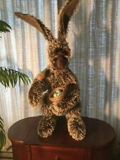 """Out of The woods Ooak Bunny Rabbit """"Jasper with Robin"""" Mint"""