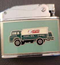 Vintage COOP Farm Bureau Gas Truck Coal Rare Indianapolis Indiana Lighter Oil