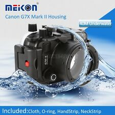 Underwater Waterproof Housing Camera Case for Canon G7X II Mark II 2 Camera