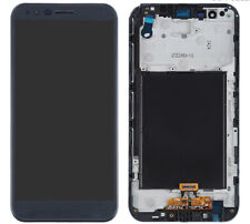LG Stylo 3 Plus MP450 TP450 M470 LCD screen touch digitizer frame assembly Black