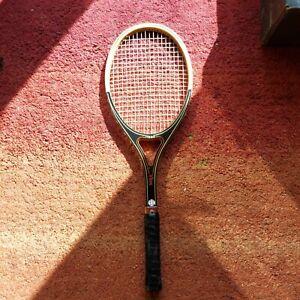 Vintage AMF Head Vilas Wooden Tennis Racket