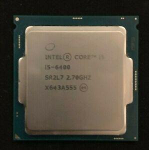 Intel i5-6400 2.7Ghz, LGA1151 **Excellent Condition**