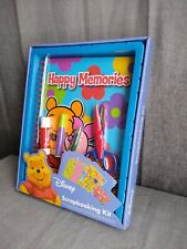 Disney winnie the pooh Scrapbooking Kit never opened