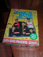 """Topps 1989 """"New Kids On The Block"""" Trade Cards. 36 Unopened Packs Super Gloss"""