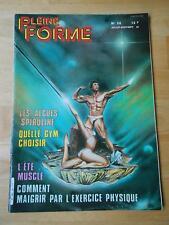 PLEINE FORME #56 female bodybuilding muscle magazine FRANK ZANE 9-83 (Fr)