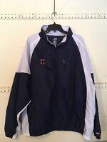 University Of Illinois U Of I Illini Windbreaker XL Pro Player Jacket