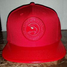 Mitchell & Ness Atlanta Hawks Red HWC Snapback Hat Cap NBA