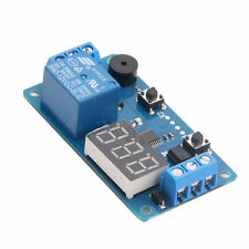 12V Display LED Timer Relay Programmable Board Delay Switch Module Car Buzzer