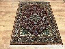Edler Perserteppich Orientteppich Ghom Teppich Korkwolle 155 x 110 Tiermotive