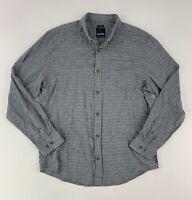 EUC Prana Button Down Shirt Slim Fit Long Sleeve Travel Outdoor Men's X-Large XL
