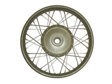 "Military Green Front Wheel + 7"" Hub New Vintage Royal Enfield@AGA"