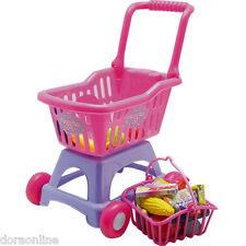 Kids Children Shopping Cart  Super Market Trolley Toys