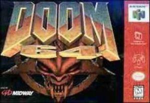 Doom 64 - Nintendo N64 Great Game