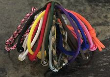 15 Mini Paracord Adjustable Whelping Id Collars For Small Dogs Or Kittens.