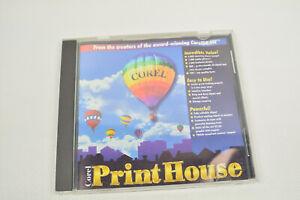 Corel Print House Computer CD Graphics Powerhouse