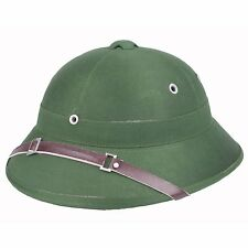 Vietnam War Army Hat Hunter Fancy Dress Costume With Pith Helmet Cap GREEN
