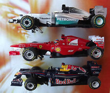 Carrera Go 3x f1 voiture train set courses voiture Mercedes Red Bull Ferrari slotcars