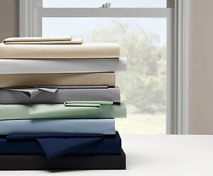EXTRA DEEP PERCALE NON IRON SINGLE DOUBLE KING SUPER KING COTTON FITTED SHEET
