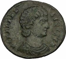 Helena ' Saint ' Constantine the Great Mother  Ancient Coin Security Cult i52810