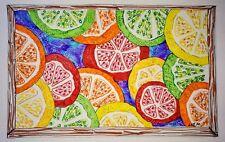Original ink illustration 'Citrus' by Michelle Ranson