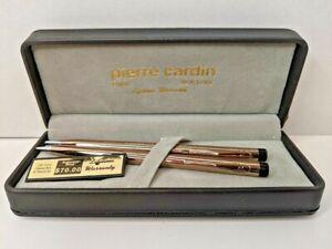Pierre Cardin 18k Gold Plated Pen & Pencil Set w/ Box