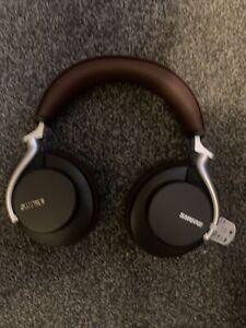 Shure Aonic 50 Bluetooth 5 Wireless ANC Headphones Fingertip Controls - Brown
