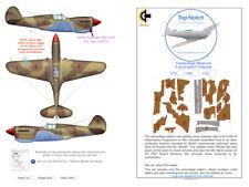 TopNotch P-40E camouflage scheme vinyl mask set