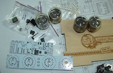 Nixie tube clock kit 2.3 with IN-4 Tubes in wood box