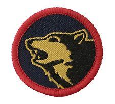 104 Logistic Brigade Flash TRF - Wolf Head Military Cloth Patch