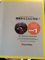 Fukuoka Kara Konnichiwa! Band1 Japanisches Lehrbuch A2, CD-Buch mit 3 CDs, Übung