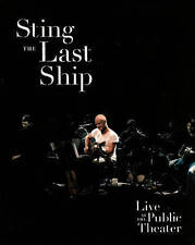 Last Ship - Live at the Public Theater Sting DVD