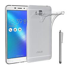 """Schutzhülle übersichtlich Gel UltraSlim für Asus Zenfone 3 Max ZC553KL 5.5"""""""