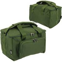 Green Carryall Carp Fishing Tackle Bag Holdall for reel , bait, hooks ,etc