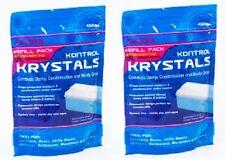 KONTROL Húmedo & HUMEDAD CRISTALES 1kg (2x 500grams) PACK RECAMBIO ABSORBE