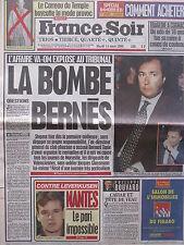 ▬► Journal France Soir 14/03/1995 Vanessa Paradis Serge Reggiani Carole Bouquet