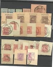 España. 25 sellos Alfonso XIII, Republica