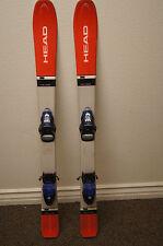 Head skis 107cm skis with bindings junior skis 107 cm with rossignol bindings