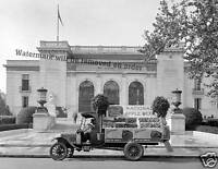 Photograph Vintage Apple Delivery Truck Washington DC 1926 8x10