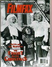 WoW! FILMFAX #53 Freaks! Fright Before Christmas!Universal vs. Hammer! Rare!