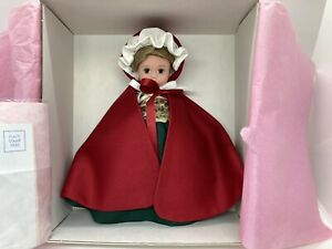 "Madame Alexander Colonial Williamsburg 8"" Caroline Doll - COA - Box - NEW - 2002"