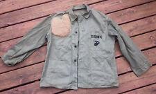 Original WWII USMC WW2 HBT utilities dungarees Jacket size 44