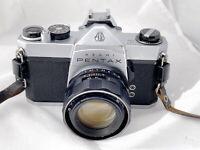 Pentax Spotmatic SP 500 Film Camera & 50mm F2 Lens, New Seals, Meter Working