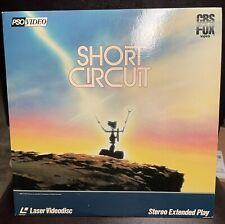 "SHORT CIRCUIT 12"" Laserdisc LD  John Badham"