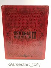 RED DEAD REDEMPTION 2 PREORDER STEELBOOK STEEL BOX PS4 XBOXONE NEW - NO GAME