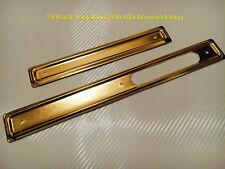 Simson Scheuerleiste Tunnel Haube Schwalbe KR 51 24 karat vergoldet Gold Tuning