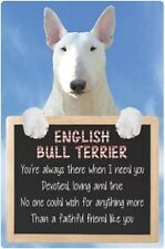 English Bull Terrier  3D home hang up sign