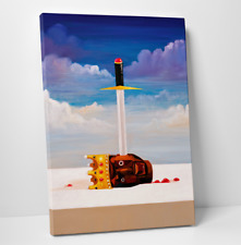 "Gallery Art Canvas- Kanye West My Beautiful Dark Twisted Fantasy ""Power"""