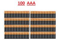 Duracell 100 AAA 1.5v Alkaline batteries Exp 2027