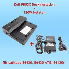 Dell PR03X Dockingstation + 130W Netzteil für Latitude E6430, E6430 ATG, E6430s